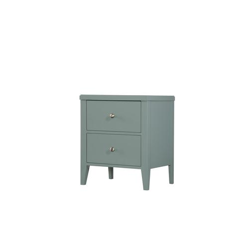 2 Drawer Nightstand-seafoam Green