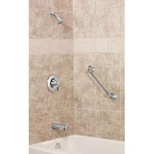 Eva chrome posi-temp® tub/shower