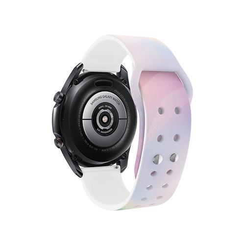 Samsung - Galaxy Watch4, Galaxy Watch4 Classic, Sami Mir Vintage Eco-Friendly TPU Band, S/M, Dawn Atlas