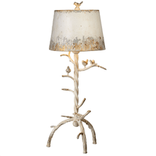 Distressed Ivory Tree Branch with Birds Table Lamp with Bulb. 60W Max.(163223) (2 pc. assortment)