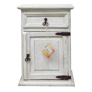 Weathered Wh1 Drawer 1 Door Ns