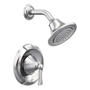 Wynford chrome posi-temp® shower only