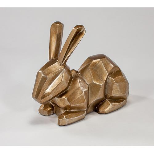 "Artmax - ""Lucky Bunny"" Champagne 16x8x13"""