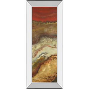 "Classy Art - ""Tierra Panel Il"" By Patricia Pinto Mirror Framed Print Wall Art"