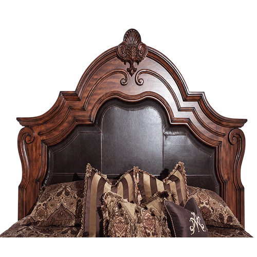 Eastern King Mansion Bed (3 pc)
