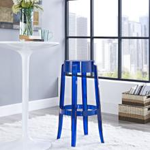 Casper Bar Stool in Blue