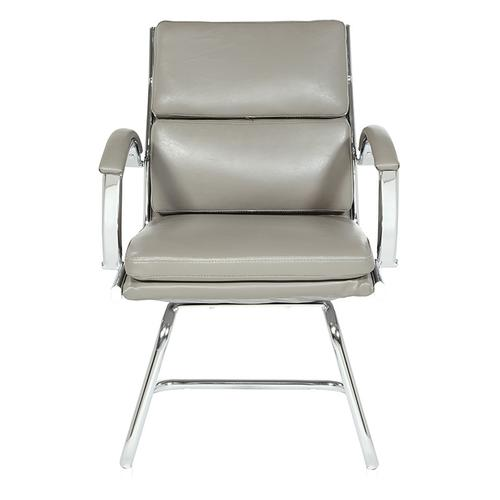 Mid-back Faux Leather Visitor's Chair