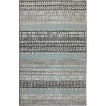 "Euphoria Eddleston Ash Grey 5' 3""x7' 10"""