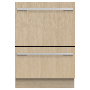 Fisher & PaykelIntegrated Double DishDrawer? Dishwasher, Tall, Sanitize