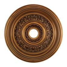 English Study Medallion 24 Inch in Antique Bronze Finish