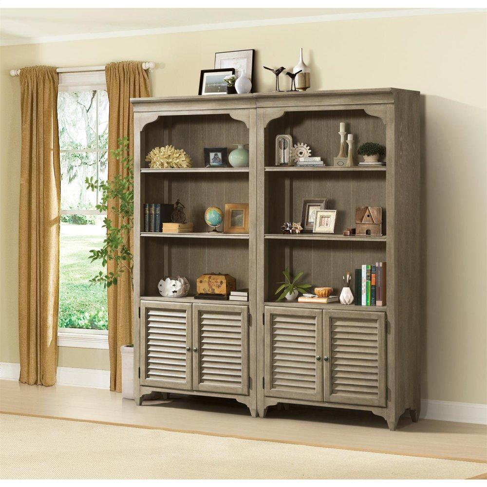 See Details - Myra - Bunching Bookcase - Natural Finish