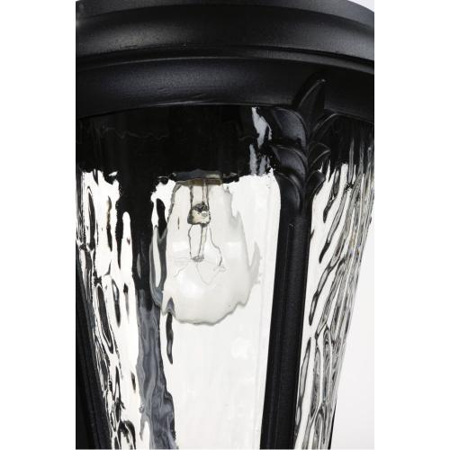 Sentry 3-Light Outdoor Wall Sconce