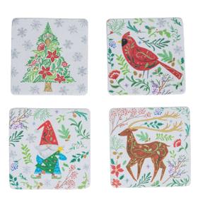 Folkloric Coasters (4 pc. set)