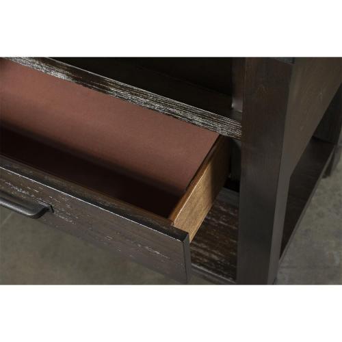 Promenade - Console Table - Warm Cocoa Finish