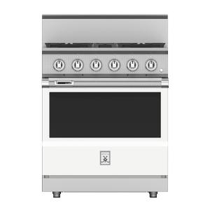 """Hestan30"""" 4-Burner Dual Fuel Range - KRD Series - Froth"""