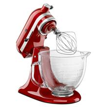 5-Qt (4.73 L) Architect Series Tilt-Head Stand Mixer - Candy Apple Red