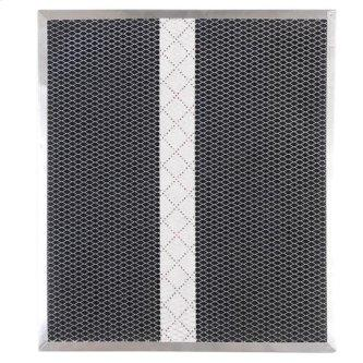 """Non-Ducted Replacement Charcoal Filter 15.725"""" x 13.875"""" x 0.375"""""""