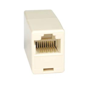 Telephone Straight Through Modular In-Line Coupler (RJ45 F/F)