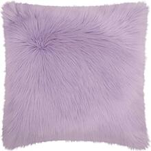 "Fur Fl101 Lavender 1'10"" X 1'10"" Throw Pillow"