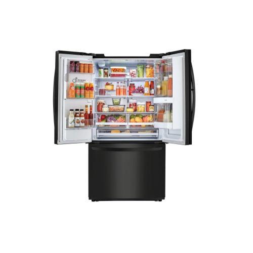 LG - 26 cu. ft. Smart wi-fi Enabled InstaView Door-in-Door® Refrigerator