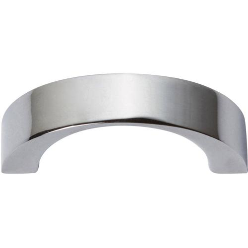 Tableau Curved Pull 1 7/16 Inch (c-c) - Polished Chrome