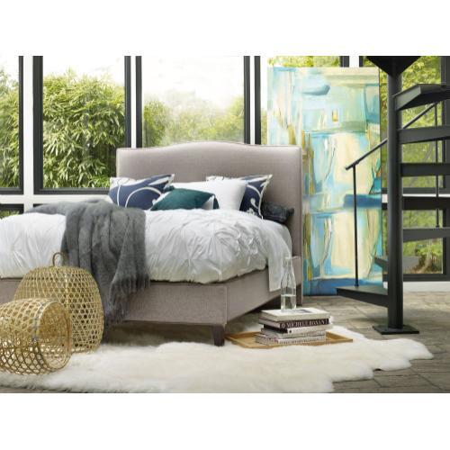 Sam Moore Furniture - Bedroom Nest Theory Wren 54in Queen Upholstered Bed