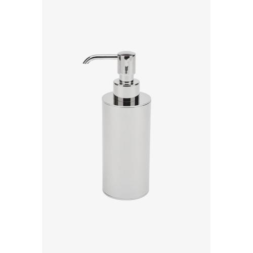 Luster Soap Dispenser in Matte Nickel