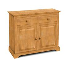 2 Door Buffet also Available with 2 Door Hutch (sku H-2B)