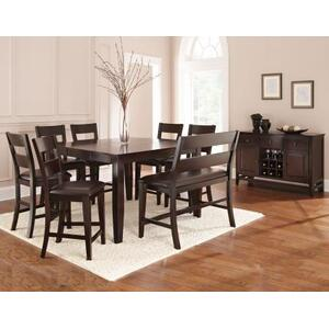 """Victoria 54-inch Counter Table w/18"""" Butterfly Leaf"""