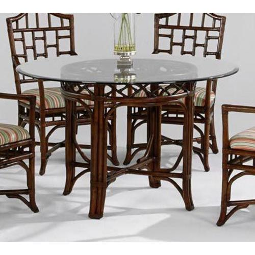 """Product Image - Chippendale 60"""" Round Dining Table with Bevel"""
