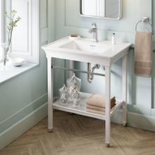 View Product - Town Square S Washstand - White