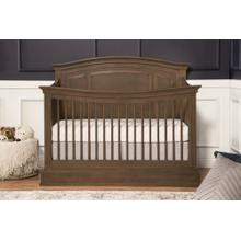 Mocha Durham 4-in-1 Convertible Crib with Toddler Bed Conversion Kit
