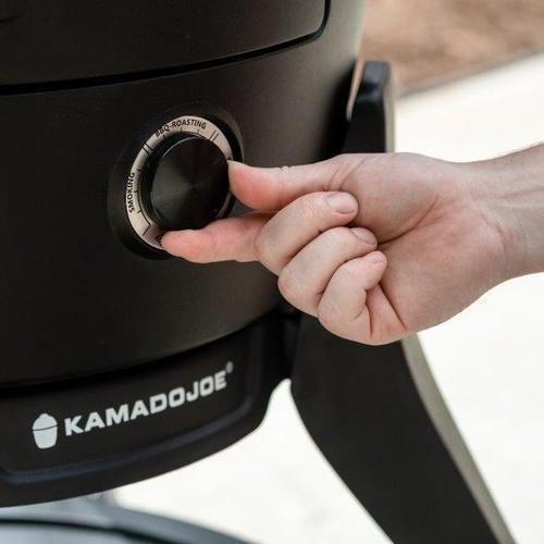 "Kamado Joe Pellet Joe 18"" Pellet Fired Ceramic Grill with Integrated Thermostat Control"