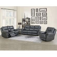 Isabella Grey 3 Piece Motion Set (Sofa, Loveseat & Chair)