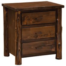 See Details - XL Three Drawer Nightstand - Modern Cedar