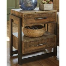 Sommerford Two Drawer Night Stand Brown