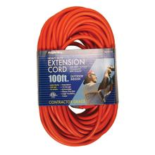 12/3 100 ft. Orange Extension Cord