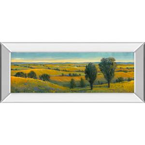 """""""Picturesque Scene Il"""" By Tim Otoole Mirror Framed Print Wall Art"""