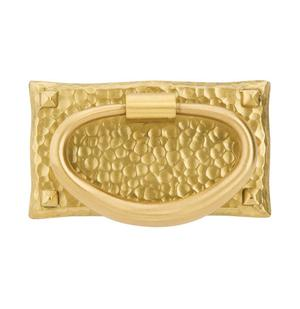 Hammered Oval Pull Product Image