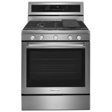 (OPEN BOX) 30-Inch 5-Burner Gas Convection Range - Stainless Steel