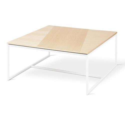 Tobias Coffee Table - Square Blonde Ash