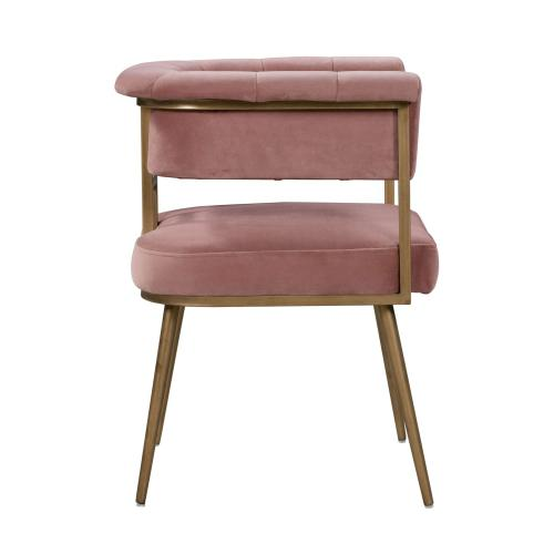 Tov Furniture - Astrid Blush Velvet Chair