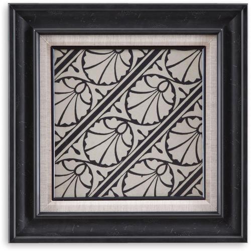 Bassett Mirror Company - Ornamental Tile Motif VI Wall Art