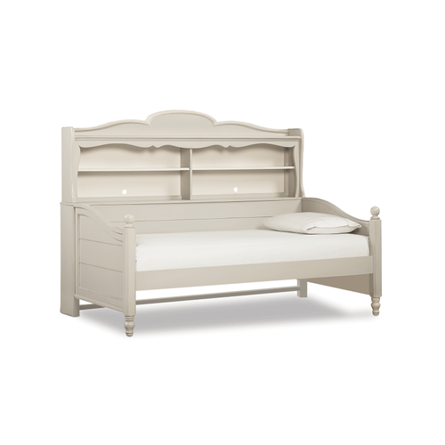 Inspirations by Wendy Bellissimo - Seashell White Westport Bookcase Daybed
