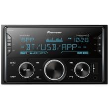 Double-DIN In-Dash Digital Media Receiver with Bluetooth® and SiriusXM® Ready