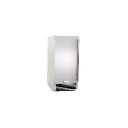 Blaze Grills - Blaze 50 LB. 15 Inch Outdoor Ice Maker with Gravity Drain