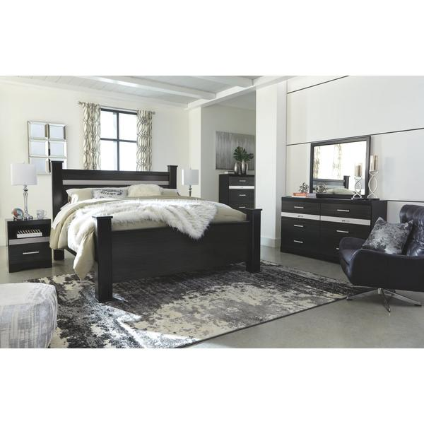 Starberry King Poster Bed