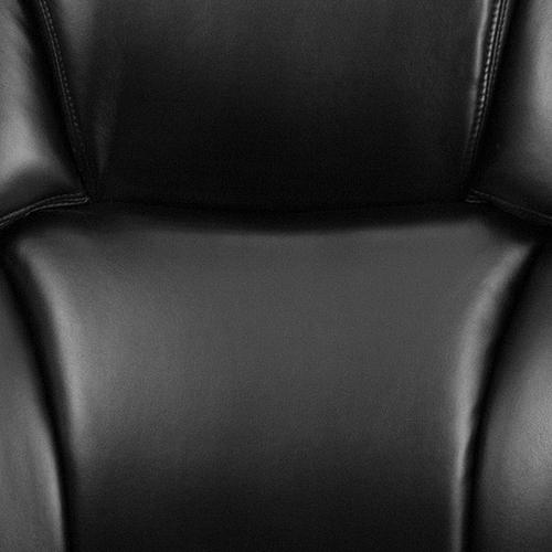 Gallery - HERCULES Series 24\/7 Intensive Use Big & Tall 400 lb. Rated Black LeatherSoft Executive Lumbar Ergonomic Office Chair
