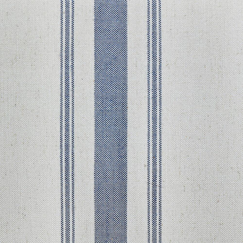 Upholstered Bench in Cambridge Blue Stripe
