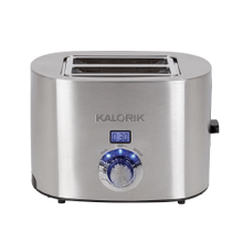 Kalorik Digital 2-Slice Rapid Toaster, Stainless Steel